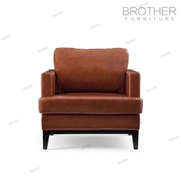 Sofa en cuir chesterfield américain