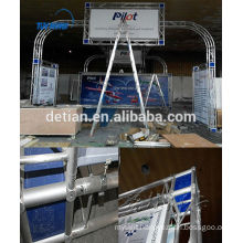 Shanghai booth displays for tadeshow with custom size from China direct factory