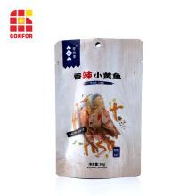 La poche stratifiée par aluminium tiennent le sac pour l'emballage de fruits de mer