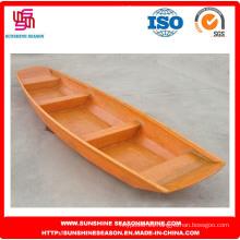 Barco de pesca de fibra de vidrio para la pesca / atractiva lancha rápida de fibra de vidrio (SFG-13)