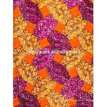 Cera de alta calidad de Feitex Cera de Hollandais vendedora caliente Precio de fábrica africano de la cera real de la tela