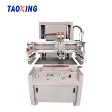 Máquina de impressão de tela plana têxtil