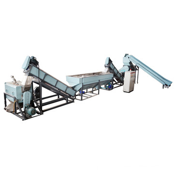 300kg/Hr PP PE Plastic Film Flake Washing Recycling Machine