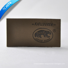 Custom Logo Leather Label for Clothing