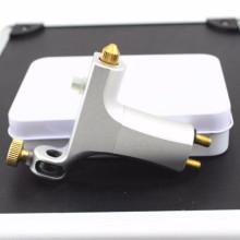 New Aluminum Alloy Rotary Motor Tattoo Machine Gun Liner Shader Silver