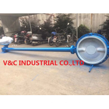 Single Butterfly Valve with Extension Stem