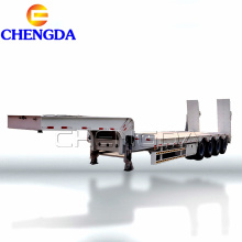 Semirremolque de plataforma baja de 4 ejes