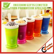 Atacado personalizado Shake Maker Plastic Slush Cups