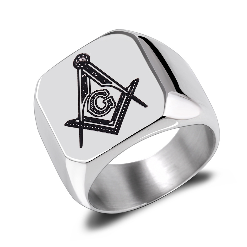 Stainless Steel Ring For Man