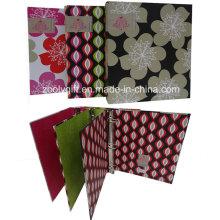"""1 """"de diseño geométrico de papel de impresión Junta 3 carpeta de carpetas de anillas"""