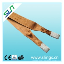 Ce GS Certificated Heavy Duty Polyester Lifting Webbing Sling