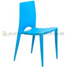 Replica PP Chaise empilable Bellini / chaise à manger en plastique