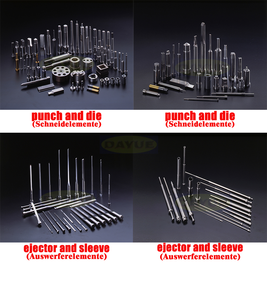 Mold components punches and dies - Ejector and sleeve