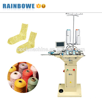Los calcetines rectos del motor SG08 dos marcan la máquina de coser que hace punto