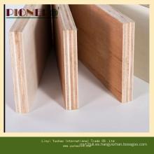 Madera contrachapada comercial blanqueada del álamo blanco de Carb P2 para los muebles de madera