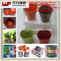 2019 new plastic injection flower pot mold with High quality Plastic Planter Mould mold making in taizhou
