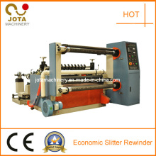 Double Rewinding Shafts Jumbo Roll Slitting Rewinding Machine