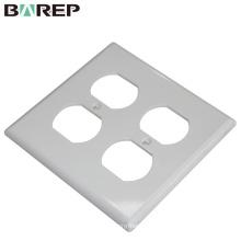 Aplicación de hogar e iluminación GFCI plástico 125V 15A placa de interruptor