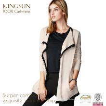 ЯШ-16002 длинным рукавом 100% чистого кашемира вязаный свитер женщин
