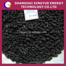 Carvão ativado a base de carvão antracita granulométrico em coluna, em pó