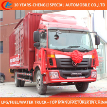China Supplier 6 Wheels Van Truck for Sale