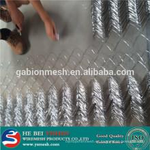 Venta caliente, buena calidad pvc recubierto / acoplamiento de cadena galvanizado que cercaba la fábrica anping