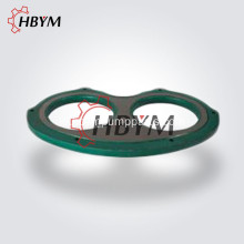 Spectacle Wear Glass Plate Wear Ring untuk Sany