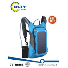 Solar Power Panel Carregador Mochila Solar Camel Bag para Camping