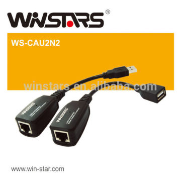 Wireless USB 2.0 Extension Adapter with No software required Extremely easy to install