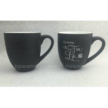Taza de café del cambio del color, taza mágica promocional