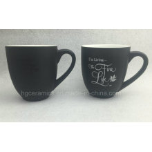 Taza de café del cambio del color, taza mágica promo