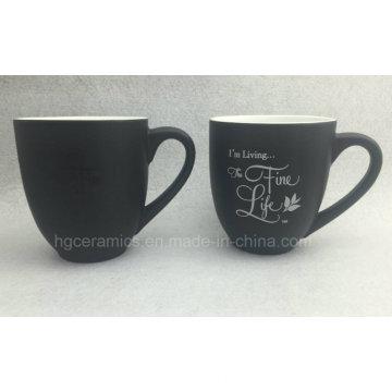 Tasse à café de changement de couleur, tasse magique promotionnelle