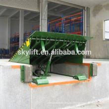 Nivelador de muelle fijo hidráulico 5-20ton / nivelador de muelle eléctrico