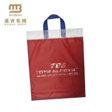 Autoadesiva transparente OPP T-shirt sacos de embalagem de plástico