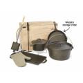 Wholesale Pre-seasoned Cast Iron Camp Cookware Set