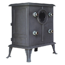 Wood Boiling Stove with Water Tank (FIPA042B) Boiler, Cast Iron Stove