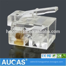cat6 UTP IDC modular jack 8P8C RJ45 shielded 90 degree toolless keystone jack / systimax gold-plated modular plug