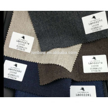 Hochwertige weiche Flanelljacke Wollmaterial super 100's auf Lager