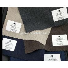 Material de lana de franela suave de alta calidad súper 100 en stock