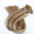 Precio de fábrica doble dibujado U Tip Remy extensiones de cabello