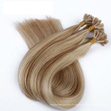 Usine Prix Double Drawn U Astuce Remy Extensions de Cheveux