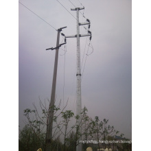 Chinese Galvanized Electricity Steel Pole