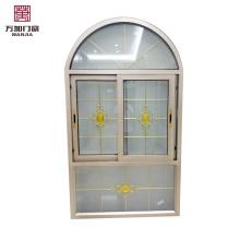 Qualität garantiert günstiger Preis maßgeschneiderte feste halbrunde Fenster