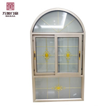 Quality guaranteed cheaper price customized fixed half round window