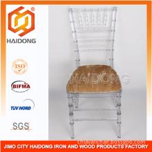 Ice Chivari Chair with Velvet Pad for Wedding