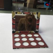 luxury empty eye shadow palette cardboard with mirror