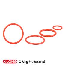 Tipo único diseño de alta elasticidad de goma roja o-ring