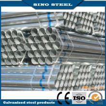 Tubo de aço ERW suave ou galvanizado redondo / quadrado / retangular