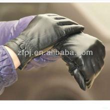 Luvas de couro do combate da forma de Milão 2013