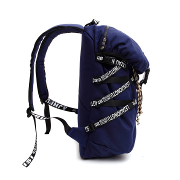 Fashion casual shopping canvas backpack